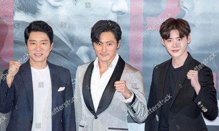 Kim Myung-min, Jang Dong-gun and Lee Jong-suk