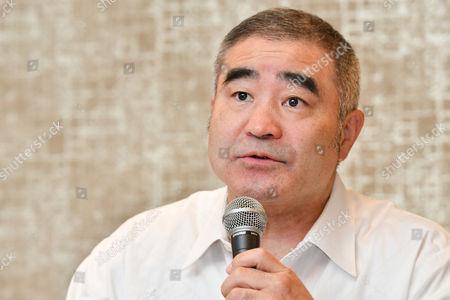 Editorial image of Shinsuke Yamanaka of Japan Boxing, press conference, Kyoto, Japan - 16 Aug 2017