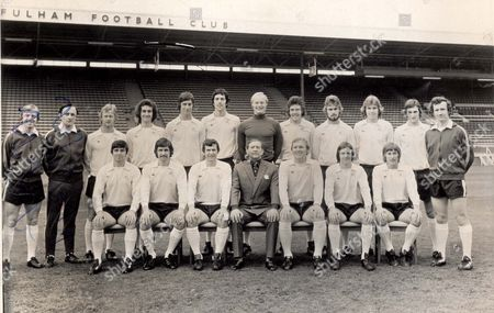 Fa Cup Squad 1975 Back Row (starting From 3rd Left): Barry Lloyd Les Strong Ernie Howe John Lacy Peter Mellor John Dowie Viv Busby John Mitchell John Fraser Bill Taylor (coach) Front Row: Jimmy Conway Alan Slough Alan Mullery Alec Stock (manager) Bobby Moore Les Barrett And John Cutbush.