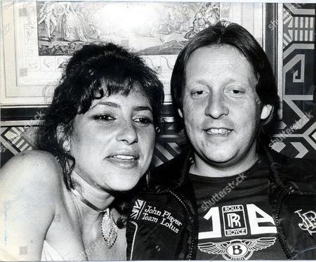 William Piggott-brown Pictured With Dido Goldsmith.