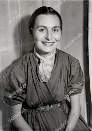 Stock Picture of Mrs Enrica Huston Known As Ricki Huston (died February 1969) Nee Enrica Soma. Ricki The Fourth Wife Of Film Director John Huston's Is The Mother Of His Children Tony And Angelica Her Daughter Allegra Has A Different Father But Huston Raised The Girl As His Own After Ricki Died In A Car Crash.