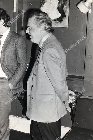 Newsreader Reginald Bosanquet (died May 1984) Pictured In 1980.