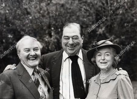 From The Archers: June Spencer (peggy Archer)with Chris Gittings (walter Gabriel) And John Arlott.
