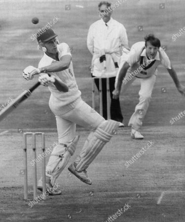 Graham Dilley England And Kent Cricketer With Geoff Lawson Graham Dilley Died 5/10/2011.