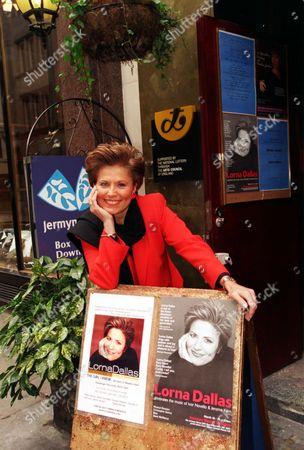 Singer Lorna Dallas At The Jermyn Street Theatre.