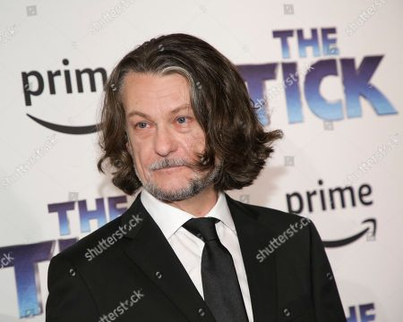 "Executive producer Ben Edlund attends the premiere screening of Amazon's Series ""The Tick"" at Village East Cinema, in New York"