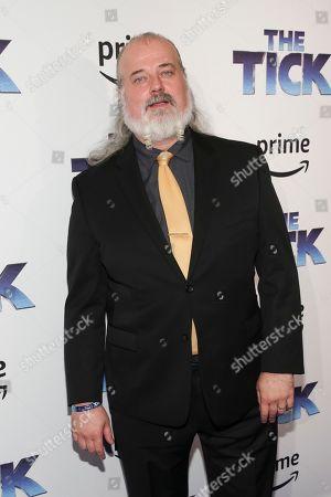 """Actor Tyler Bunch attends the premiere screening of Amazon's Series """"The Tick"""" at Village East Cinema, in New York"""