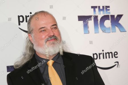 "Actor Tyler Bunch attends the premiere screening of Amazon's Series ""The Tick"" at Village East Cinema, in New York"