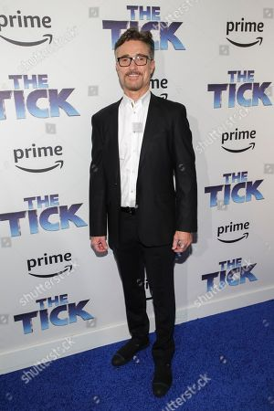 """Executive producer Barry Josephson attends the premiere screening of Amazon's Series """"The Tick"""" at Village East Cinema, in New York"""