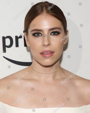 """Actress Alexandra Turshen attends the premiere screening of Amazon's Series """"The Tick"""" at Village East Cinema, in New York"""