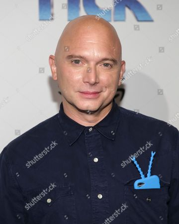 """Actor Michael Cerveris attends the premiere screening of Amazon's Series """"The Tick"""" at Village East Cinema, in New York"""