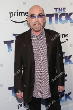 "Actor Jackie Earle Haley attends the premiere screening of Amazon's Series ""The Tick"" at Village East Cinema, in New York"