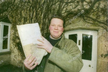 Farmer David Barton Of Duntisbourne Rouse In The Cotswolds Who Discovered A Diary A Romantic Story And A Medical Book That Were 130 Years Old. The Diary Was Written By Eliza Boulton Daughter Of Wealthy Victorian Farmer William Boulton. Box 709 1213101617 A.jpg.