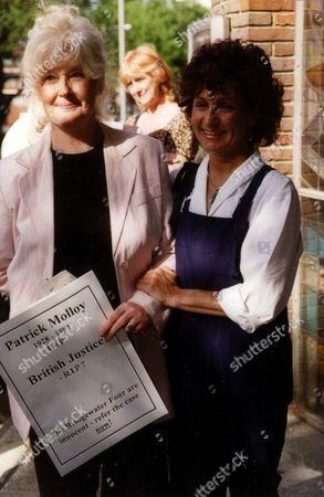Ann Whelan And Sara Thornton Campaign To Free The Bridgewater Four At St Aloysius Church Nw1.
