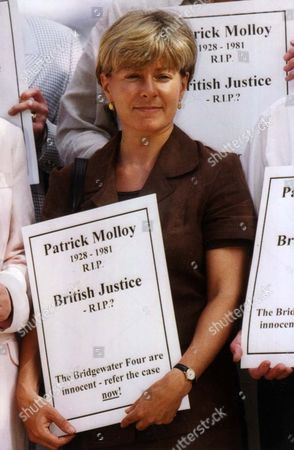 Editorial picture of Jill Morrell Campaign To Free The Bridgewater Four At St Aloysius Church Nw1.