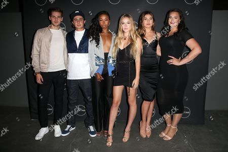 Editorial picture of 'Growing Up Supermodel's' TV show launch party, Los Angeles, USA - 16 Aug 2017