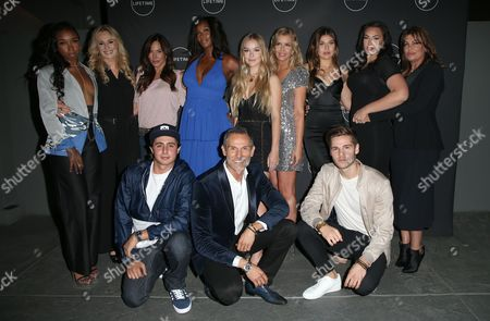 Editorial image of 'Growing Up Supermodel's' TV show launch party, Los Angeles, USA - 16 Aug 2017
