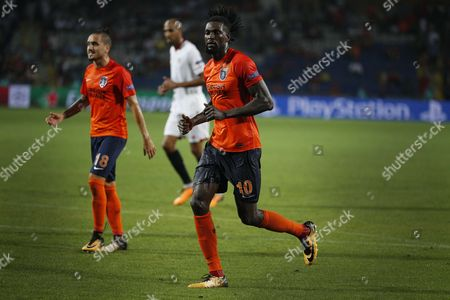 Basaksehir Togolese forward Emmanuel Adebayor