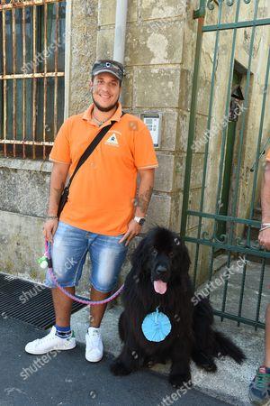 Editorial photo of Dog Loyalty Award, Camogli, Italy - 16 Aug 2017
