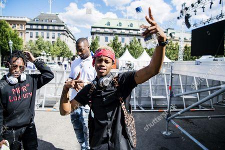 Editorial picture of Siltento in concert, Kungsträdgården, Stockholm, Sweden - 17 Aug 2017