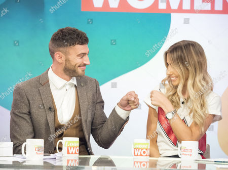 Jake Quickenden and Danielle Fogarty