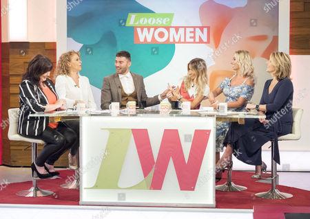 Editorial photo of 'Loose Women' TV show, London, UK - 17 Aug 2017