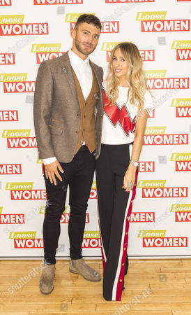 Stock Photo of Jake Quickenden and Danielle Fogarty