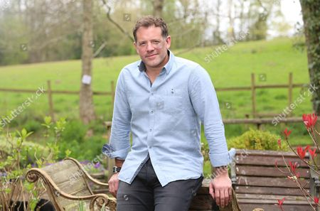 Stock Photo of Matt Tebbutt photographed at his home near Abergavenny. Matt is the new host of the BBC programme Saturday Kitchen.