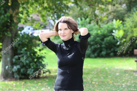 Susie Dent, who sits in dictionary corner on Countdown and is a lexicographer, photographed in Oxford.