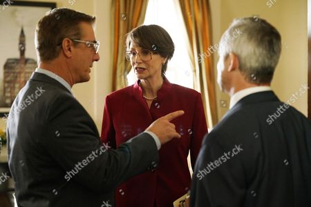 Stock Picture of Chris North, Jane Lynch, Wallace Langham