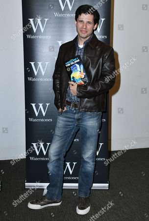 Editorial picture of Max Brooks 'Minecraft: The Island' book signing, London, UK - 17 Aug 2017