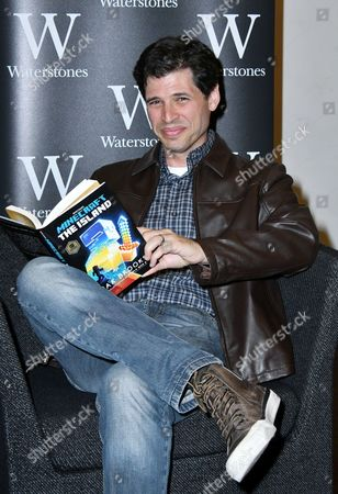 Editorial photo of Max Brooks 'Minecraft: The Island' book signing, London, UK - 17 Aug 2017