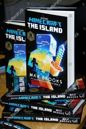 Editorial image of Max Brooks 'Minecraft: The Island' book signing, London, UK - 17 Aug 2017