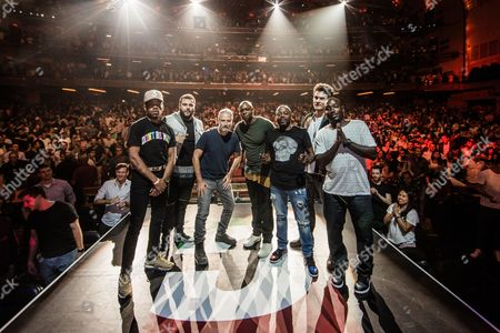 Chance The Rapper, Mo Amer, Jon Stewart, Dave Chappelle, Donnell Rawlings, John Mayer and Hannibal Buress