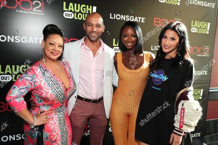 Patrice Lovely, Akende Munalula, Taja V. Simpson and Lexy Panterra