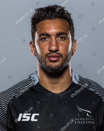 Maxime Mermoz of Newcastle Falcons poses for the camera ahead of the 2017/18 Aviva Premiership season. Newcastle Falcons Media Day held at Kingston Park, Newcastle upon Tyne on Thursday 17th August 2017