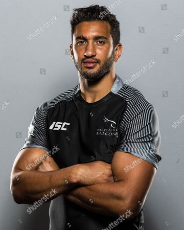 Maxime Mermoz poses for the camera during a recent photoshoot at Kingston Park.Newcastle Falcons Media Day held at Kingston Park, Newcastle upon Tyne on Thursday 17th August 2017
