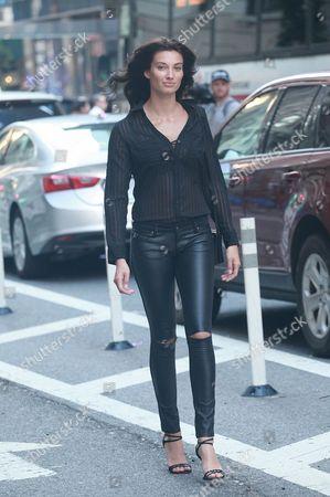 Editorial image of Victoria's Secret show casting, New York, USA - 17 Aug 2017