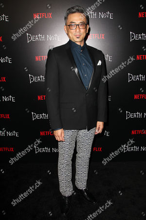 "Editorial picture of New York Premiere Screening of ""DEATH NOTE"" - Arrivals, USA - 17 Aug 2017"
