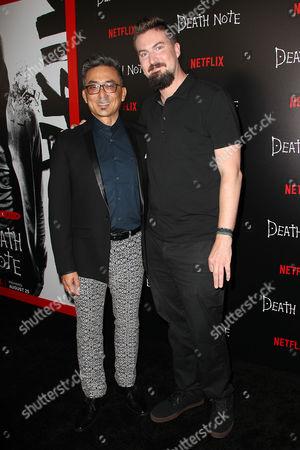 Stock Photo of Paul Nakauchi and Adam Wingard (Director)