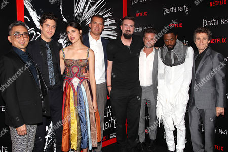"""Editorial photo of New York Premiere Screening of """"DEATH NOTE"""" - Arrivals, USA - 17 Aug 2017"""