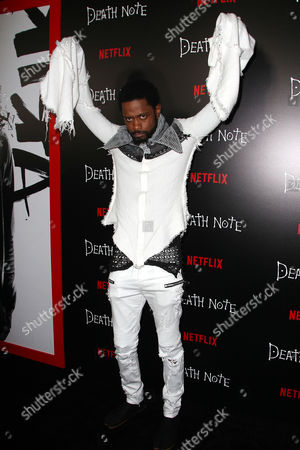 """Editorial image of New York Premiere Screening of """"DEATH NOTE"""" - Arrivals, USA - 17 Aug 2017"""