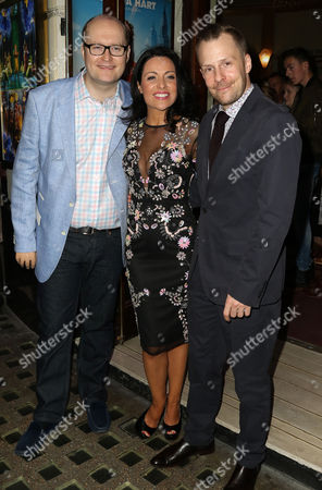 Jun 05 2017 - London England Uk - 'Annie' the Musical Press Night Piccadilly Theatre - Outside Arrivals Photo Shows: Director Nikolai Foster (r)(credit Image: