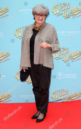 Stock Image of Jun 29 2017 - London England Uk - 'The Wind in the Willows' Musical Gala Performance London Palladium - Red Carpet Arrivals Photo Shows: Julia Mckenzie(credit Image: