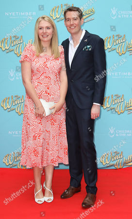 Jun 29 2017 - London England Uk - 'The Wind in the Willows' Musical Gala Performance London Palladium - Red Carpet Arrivals Photo Shows: Analise Hendry Jamie Hendry(credit Image: