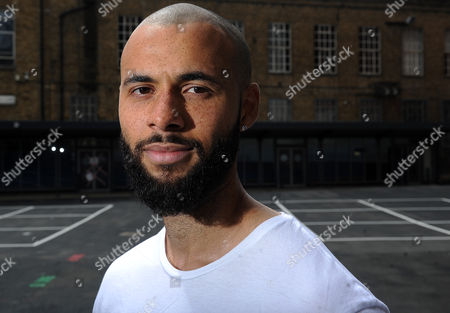 Stock Picture of Jun 6 2017 - London England United Kingdom - A Blustery Day by the Thames and John Bostock is Back where It All Began London Nautical School Blackfriars is where He Studied When He Was First Identified As A Teenage Football Talent Extraordinary Enough to Attract the Attention of Barcelona Bostock Was Only 15 When He Made His First-team Debut For Crystal Palace in October 2007 and Sportsmail Photographed Him in the Playground (credit Image: Â