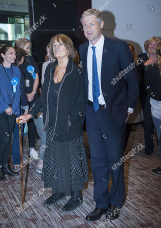 After 2 Recounts at the Richmond Constituency A Final 'Batch Flick' Or 'Bundle Check' is to Be Made Whilst Zac Goldsmith Waits to Hear if He Has Won Back the Seat From the Liberal Democrats Sarah Olney with Mother Lady Annabel Goldsmith Â