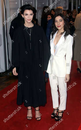 Jun 06 2017 - London England Uk - Glamour Women of the Year Awards 2017 Berkley Square Gardens - Red Carpet Arrivals Photo Shows: Ruby Rose and Jessica Origliasso (credit Image: