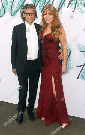 Jun 28 2017 - London England Uk - the Serpentine Galleries Summer Party 2017 at the Serpentine Gallery - Arrivals Photo Shows: George Waud (l) and Charlotte Tilbury (credit Image: