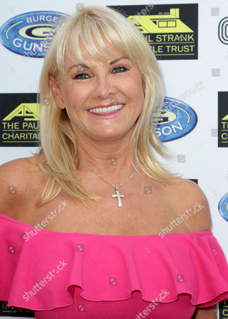 Jul 05 2017 - London England Uk - Paul Strank Charitable Trust Summer Party Mint Leaf Piccadilly - Outside Arrivals Photo Shows: Carol Wright (credit Image: